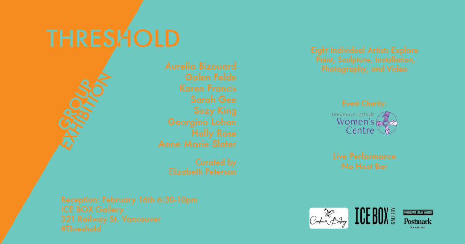 Threshold - A Group Art Exhibit at Ice Box Gallery